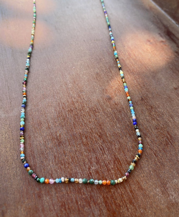 Gemstrands, Necklace & Wrap 20.5