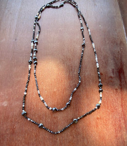Gemstrands, Very Long Necklace & Wrap