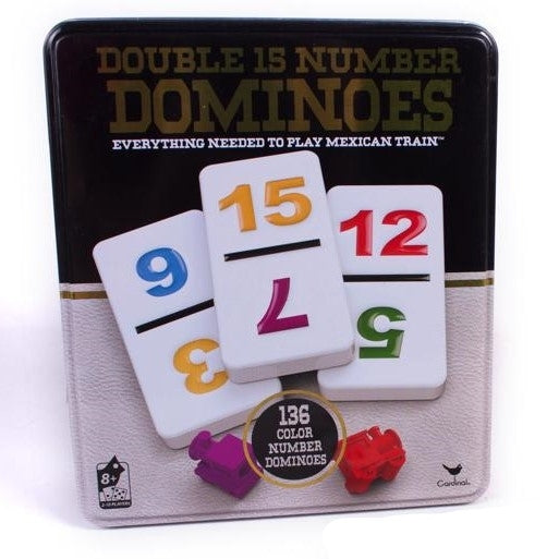 DOMINOES D15 IN TIN