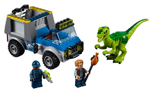 LEGO 10757 DUPLO JURASSUC WORLD RAPTOR RESCUE TRUCK