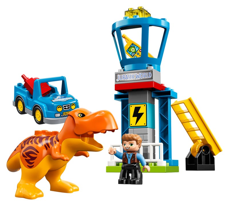LEGO 10880 DUPLO JURASSIC WORLD T REX TOWER