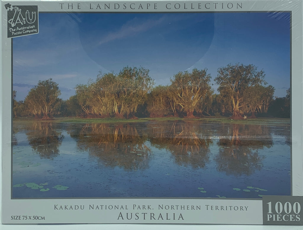 THE LANDSCAPE COLLECTION KAKADU NATIONAL PARK TREED NORTHERN TERRITORY 1000 PIECE
