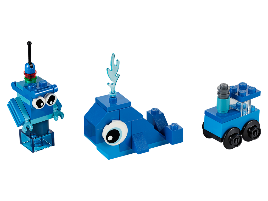 LEGO 11006 CLASSIC CREATIVE BLUE BRICKS
