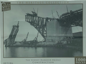 THE LANDSCAPE COLLECTION SYDNEY HARBOUR BRIDGE CONSTRUCTION 1000 PIECE