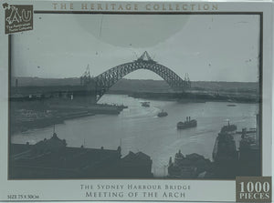 THE LANDSCAPE COLLECTION HARBOUR BRIDGE MEETING OF THE ARCH 1000 PIECE