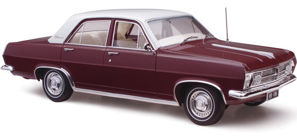 18671 HOLDEN EGMONT MAROON METALLIC HD 1:18TH