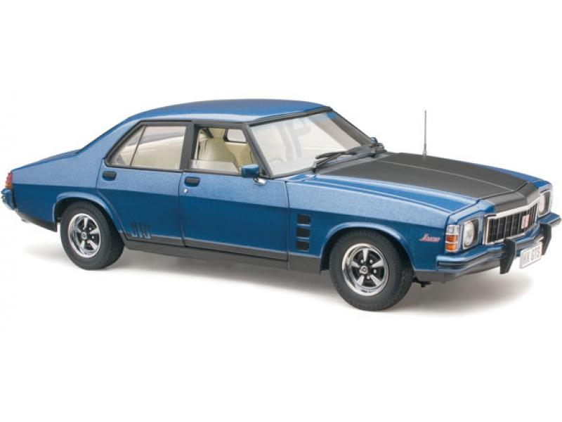 18704 HOLDEN HX MONARO GTS DEAUVILLE BLUE 1:18TH