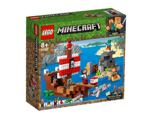LEGO 21152 MINDCRAFT THE PIRATE SHIP ADVENTURE