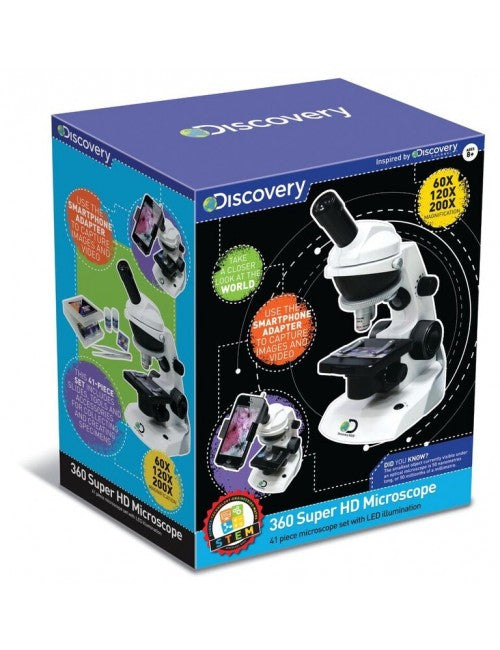 DISCOVERY KIDS 360 HD MICROSCOPE
