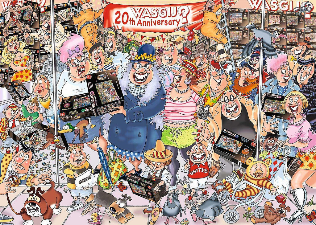 WASGIJ ORIGINAL 27 THE 20TH PARTY PARADE 1000 PIECE