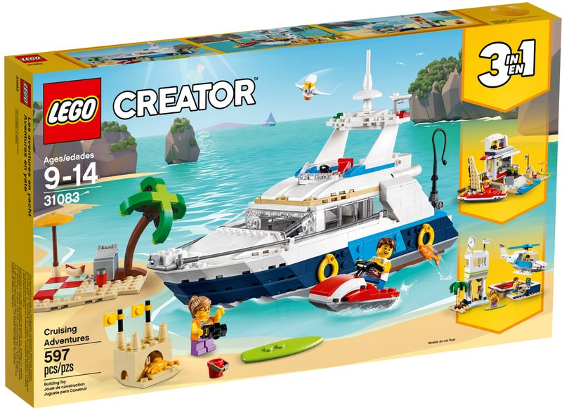 LEGO 31083 CREATOR 3 IN 1 CRUISING ADVENTURES