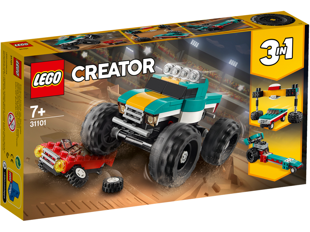 LEGO 31101 CREATOR 3 IN 1 MONSTER TRUCK