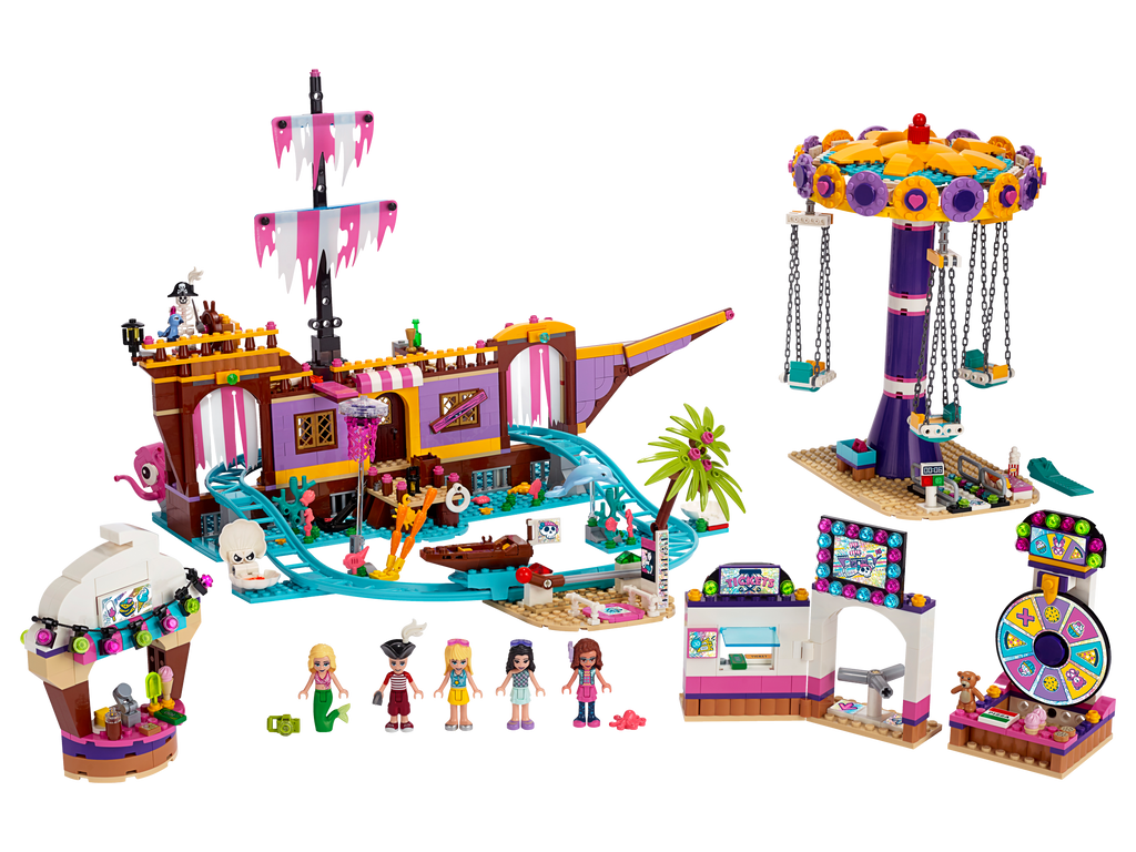 LEGO 41375 FRIENDS HEARTLAKE CITY AMUSEMENT PIER