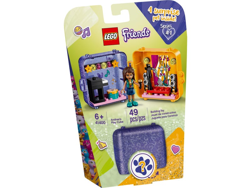 LEGO 41400 FRIENDS ANDREAS PLAY CUBE
