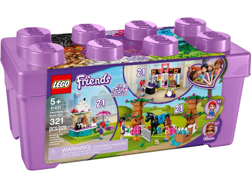 LEGO 41413 FRIENDS HEARTLAKE CITY BRICK BOX