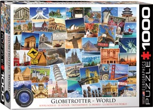 GLOBETROTTER THE WORLD 1000 PIECE