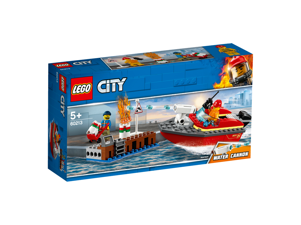 LEGO 60213 CITY DOCK SIDE FIRE