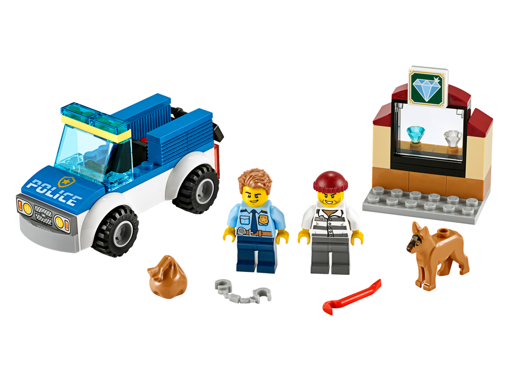 LEGO 60241 CITY POLICE DOG UNIT
