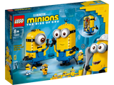 LEGO 75551 MINIONS THE RISE OF GRU BRICK BUILT MINIONS AND THEIR LAIR
