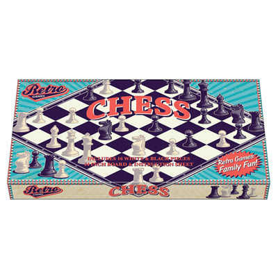 RETRO CHESS BOARD