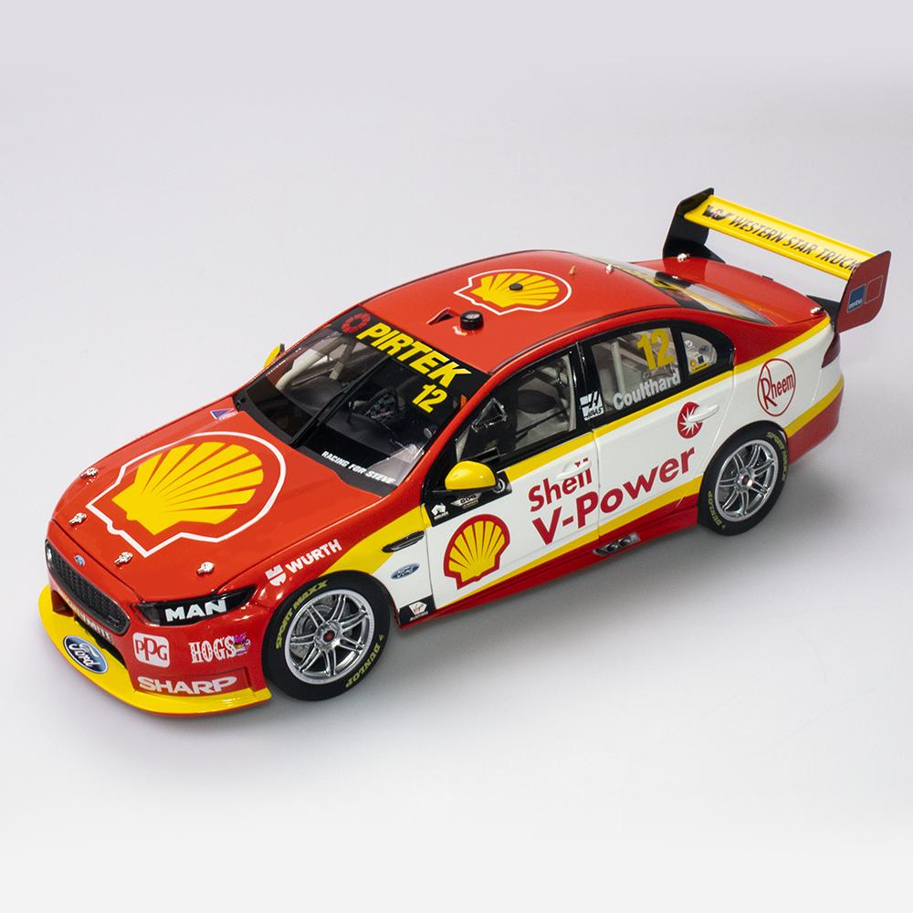 SHELL V POWER RACING FORD FGX SUPERCARS CHAMPIONSHIP 2018 FABIAN COULTHARD 1:18TH