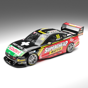 ACD18F19F  RACING MUSTANG 2019 SEASON CAR MOSTERT 1:18TH