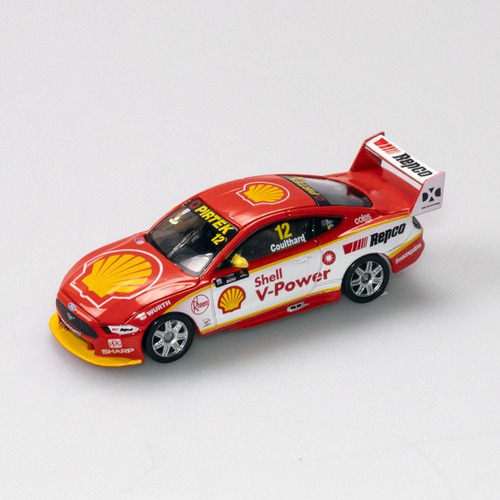 SHELL V POWER MUSTANG 2019 SEASON CAR COULTHARD 1:64TH