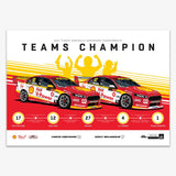 SHELL V POWER RACING 2017 TEAMS CHAMPION LIMITED PRINT