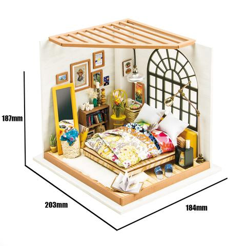 DIY MINATURE HOUSE ALICES DREAMY BEDROOM