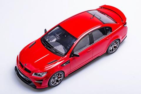 HSV GTSR STING RED 1:12TH