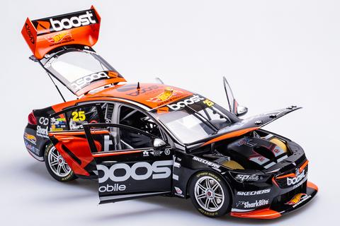 HOLDEN ZB COMMODORE MOBIL BOOST 2018 VIRGIN AUSTRALIA SUPERCAR SERIES JAMES COURTNEY 1:18TH