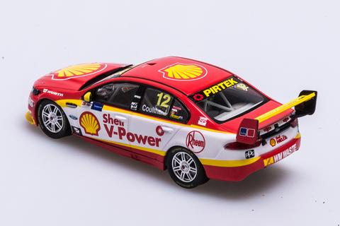 FORD FGX FALCON SHELL V POWER RACING 2017 TYREPOWER TASMANIA SUPERSPRINT FABIAN COULTHARD 1:43RD
