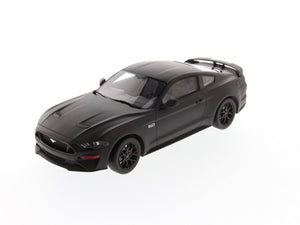 MATTE BLACK MUSTANG RIGHT HAND DRIVE 1:18