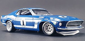 TEAM SHELBY 1969 BOSS 302 TRANS AM  MUSTANG SAM POSEY
