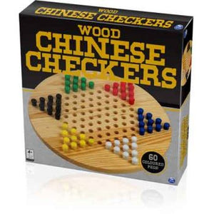 CLASSIC WOODEN CHINESE CHECKERS