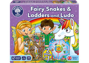 FAIRY SNAKES AND LADDERS AND LUDO