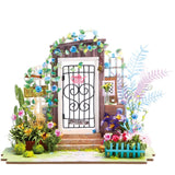 DIY MINIATURE HOUSE GARDEN ENTRANCE