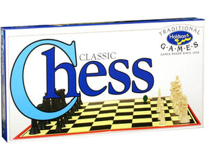 CHESS SET SOLID PIECES