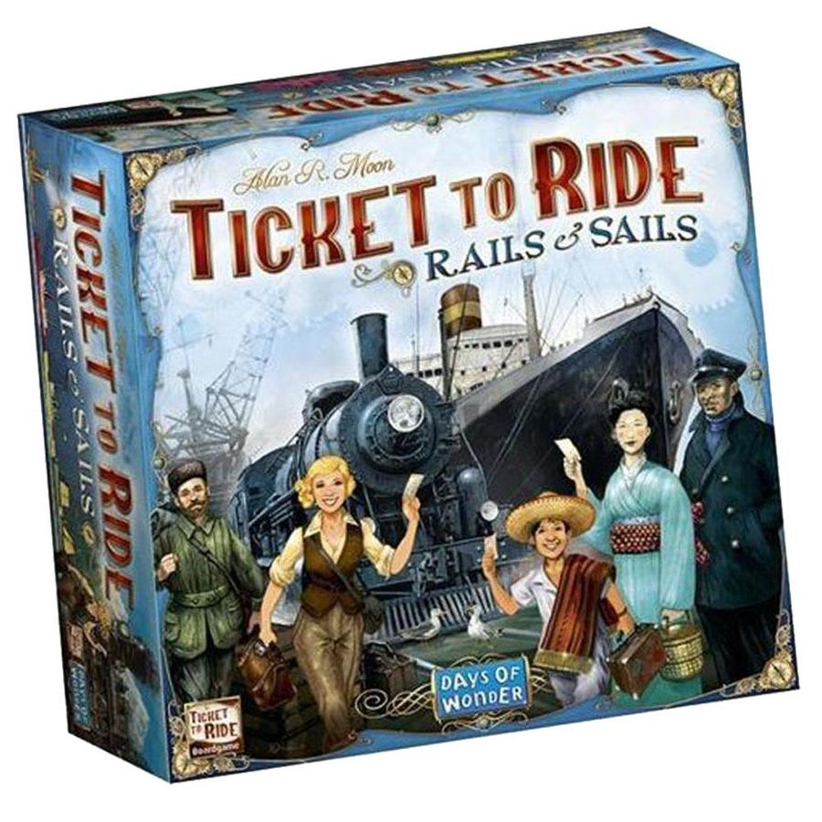 TICKET TO RIDE SAILS AND RAILS