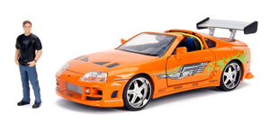 FAST AND FURIOUS BRIAN WITH TOYOTA SUPRA