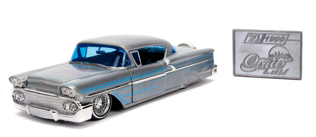 STREET LOW 1958 CHEVY IMPALA HARDTOP 20TH ANNIVERSARY 1: 24TH SCALE
