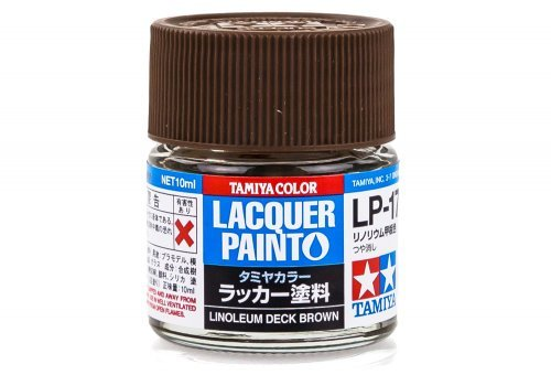 LP17 LACQUER LINOLEUM DECK BROWN 10ML