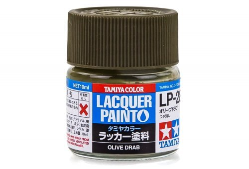 LP28 LACQUER OLIVE DRAB 10ML