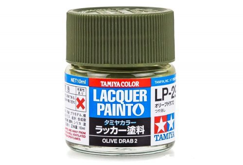 LP29 LACQUER OLIVE DRAB 2 10ML