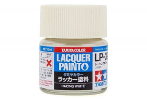 LP39 LACQUER RACING WHITE 10ML