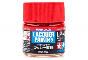 LP42 LACQUER MICRA RED 10ML
