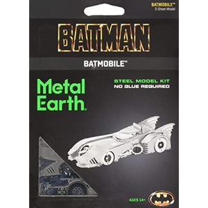 METAL EARTH BATMAN 1989 BATMOBILE