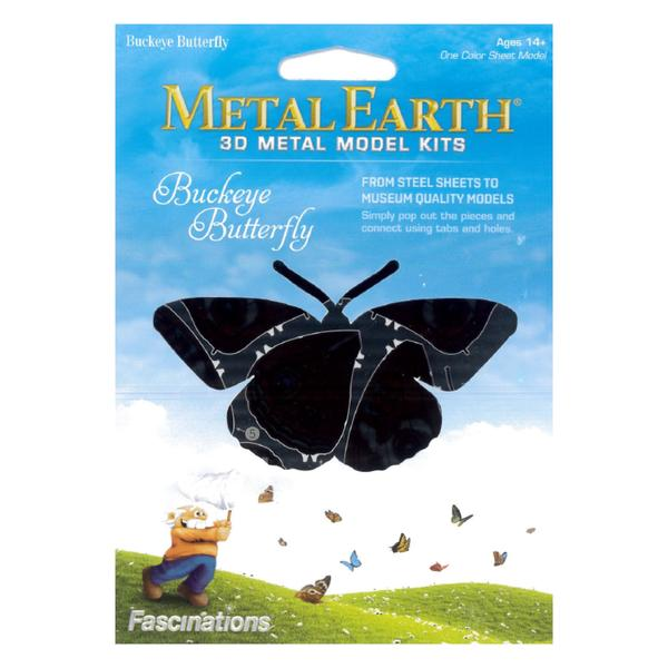 METAL EARTH BUTTERFLY BUCKEYE