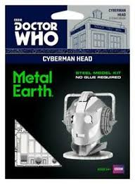 METAL EARTH DR WHO CYBERMAN HEAD