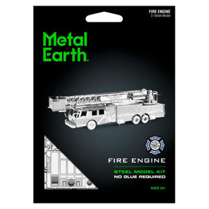 METAL EARTH FIRE TRUCK